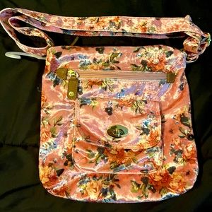 bag rose with spring flowers